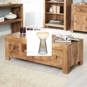 Coffee Table 8 Draw